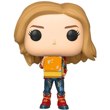 Фигурка Funko POP! Marvel: Captain Marvel with Lunch Box 37685
