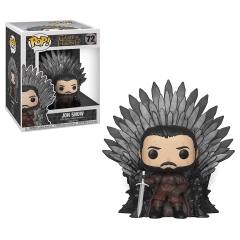 Фигурка Funko POP! Deluxe: Game of Thrones S10: Jon Snow on Thron 37791