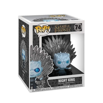 Фигурка Funko POP! Deluxe: Game of Thrones S10: Night King on Thron 37794