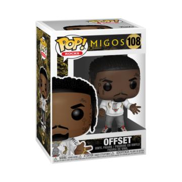 Фигурка Funko POP! Music: Migos: Complete Set of 3: Takeoff, Offset, Quavo 37855