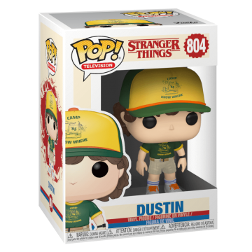 Фигурка Funko POP! Stranger Things: Dustin at Camp 38532