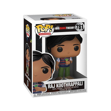 Фигурка Funko POP! Vinyl: Television: Big Bang Theory: Raj Koothrappali 38584