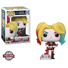 Фигурка Funko POP! Heroes: Harley Quinn with Boombox Exclusive 38976