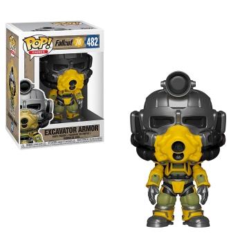 Фигурка Funko POP! Fallout 76: Excavator Power Armor 39038