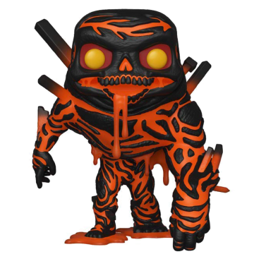 Фигурка Funko POP! Spider Man Far From Home: Molten Man (Glow) (Exclusive) 39210