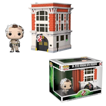 Фигурка Funko POP! Town: Movies: Ghostbusters: Peter with House 39454