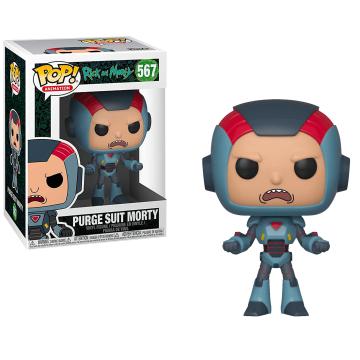 Фигурка Funko POP! Rick and Morty: Purge Suit Morty Suit 40247