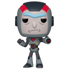 Фигурка Funko POP! Rick and Morty: Purge Suit Rick 40248