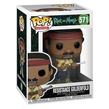 Фигурка Funko POP! Rick and Morty: Resistance Goldenfold 40256