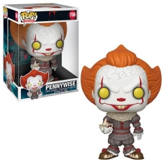 Фигурка Funko POP! Vinyl: Movies: IT: Chapter 2: Pennywise with Boat 10-Inch 40593