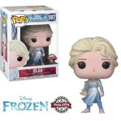 Фигурка Funko POP! Disney: Frozen 2: Elsa with Ocean (Exclusive) 40885