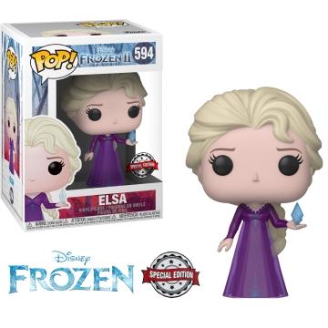 Фигурка Funko POP! Disney: Frozen 2: Elsa with Crystal (Exclusive) 40892