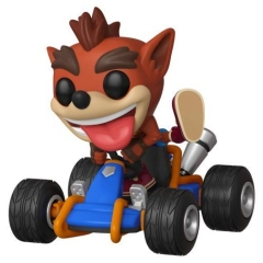 Фигурка Funko POP! Rides: Crash Team Racing: Crash Bandicoot 40950