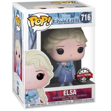 Фигурка Funko POP! Disney: Frozen 2: Elsa with Salamander (Exclusive) 42134