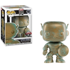 Фигурка Funko POP! Bobble: Marvel 80th: Captain America (Exclusive) 42218