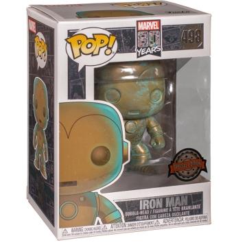 Фигурка Funko POP! Bobble: Marvel 80th: Iron Man (Exclusive) 42223