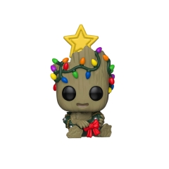 Фигурка Funko POP! Bobble: Marvel: Holiday: Groot 43333