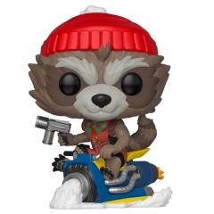 Фигурка Funko POP! Bobble: Marvel: Holiday: Rocket Raccoon 43334