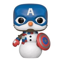 Фигурка Funko POP! Bobble: Marvel: Holiday: Captain America 43335