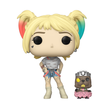 Фигурка Funko POP! Birds of Prey: Harley Quinn with Beaver 44378