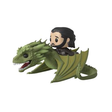 Фигурка Funko POP! Rides: Game of Thrones: Jon Snow with Rhaegal 44448