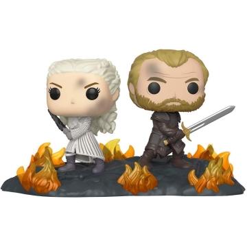 Фигурка Funko POP! Vinyl: Movie Moment: Game of Thrones: Daenerys and Jorah with Swords 44824