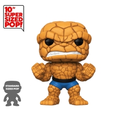 "Фигурка Funko POP! Bobble: Marvel: Fantastic Four: 10"" Inch The Thing (Exclusive) 45008"