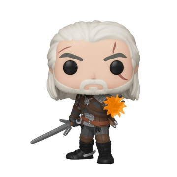 Фигурка Funko POP! The Witcher: Geralt Glow in the Dark 45039