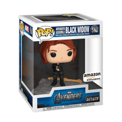 Фигурка Funko POP! Avengers Assemble Series: Black Widow Exclusive 45075