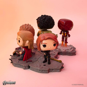 Фигурка Funko POP! Avengers Assemble Series: Black Widow Exclusive 45075