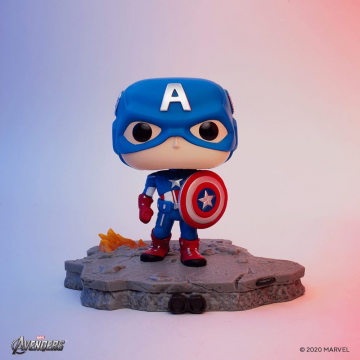 Фигурка Funko POP! Avengers Assemble Series: Captain America Exclusive 45076