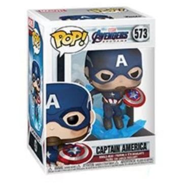 Фигурка Funko POP! Avengers Endgame: Captain America with Broken Shield 45137