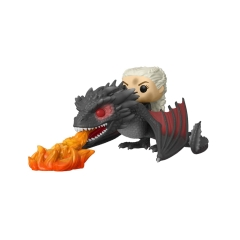 Фигурка Funko POP! Rides: Game of Thrones: Daenerys on Fiery Drogon 45338