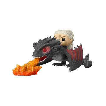 Фигурка Funko POP! Rides: Game of Thrones: Daenerys on Fiery Drogon 45338