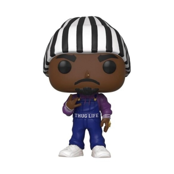 Фигурка Funko POP! Music: Tupac Thug Life Overalls (Exclusive) 45433
