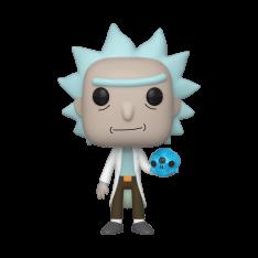 Фигурка Funko POP! Rick and Morty: Rick with Crystal Skull 45438