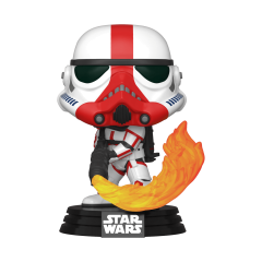 Фигурка Funko POP! Star Wars: The Mandalorian: Incinerator Stormtrooper 45542