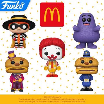 Фигурка Funko POP! McDonalds: Grimace 45723