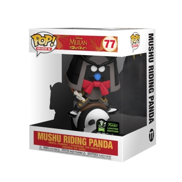 Фигурка Funko POP! Mushu Riding Panda (2020 Spring Convention Limited Edition Exclusive) 45935