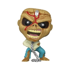 Фигурка Funko POP! Rocks: Iron Maiden: Skeleton Eddie Piece of Mind 45983