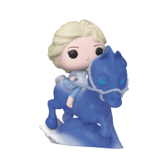 Фигурка Funko POP! Frozen 2: Elsa riding the Nokk 46586