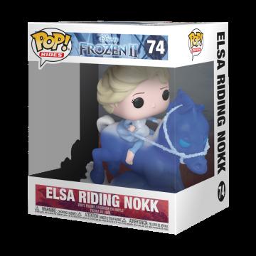 Фигурка Funko POP! Frozen 2: Elsa riding the Nokk 46586