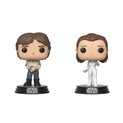 Фигурка Funko POP! Star Wars: 2PK Han and Leia 46770