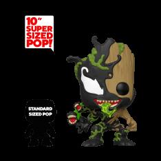 """Фигурка Funko POP! Marvel: 10"""" Inch Venomized Groot 46866"""