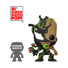 "Фигурка Funko POP! Marvel: 10"" Inch Venomized Groot 46866"