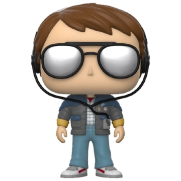 Фигурка Funko POP! Back to The Future: Marty with Glasses 46912