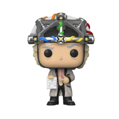 Фигурка Funko POP! Back to The Future: Doc with Helmet 46914