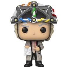 Фигурка Funko POP! Back to The Future: Doc with Helmet 46914