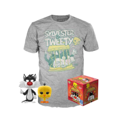 Набор Funko POP and Tee: Looney Tunes: Sylvester and Tweety (M) 46988
