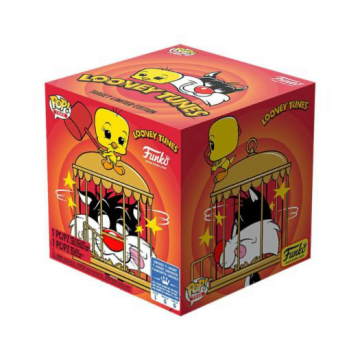 Набор Funko POP and Tee: Looney Tunes: Sylvester and Tweety (S) 46989